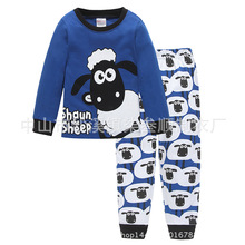 Kids Pajamas Sets Cartoon Long Sleeve