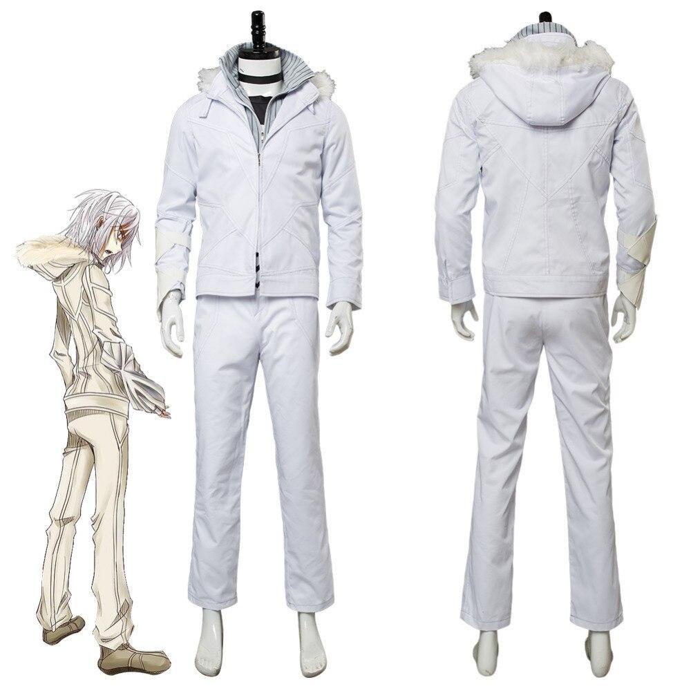 A Certain Magical Index Accelerator White Wing Costume Toaru Majutsu no Index Cosplay Halloween Carnival Costumes Custom Made