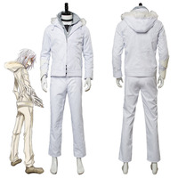 A Certain Magical Index Accelerator White Wing Costume Toaru Majutsu no Index Cosplay Halloween Carnival Costumes Custom Made
