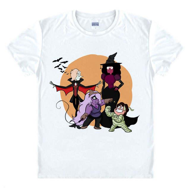 7f762accd65b7 STEVEN UNIVERSE T Shirt Sugar Life Adventure Crystal Gems T-shirts Anime  Men Boy Cartoon Tshirt STAR homme Print Brand top tee