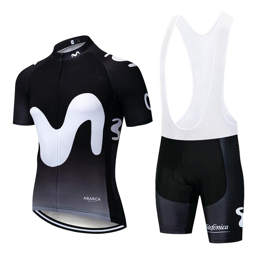 New Black BIG M Pro Cycling Wear Bike Jersey Quick Dry Bicycle Clotheing Mens Summer Team Cycling Jerseys 20D Bike Shorts Set