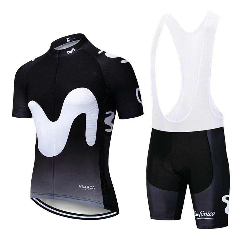 Spor ve Eğlence'ten Bisiklet Takımları'de Yeni siyah büyük M pro bisiklet giyim bisiklet forması hızlı kuru bisiklet giyim erkek yaz takım bisiklet formaları 20D bisiklet şortları seti title=