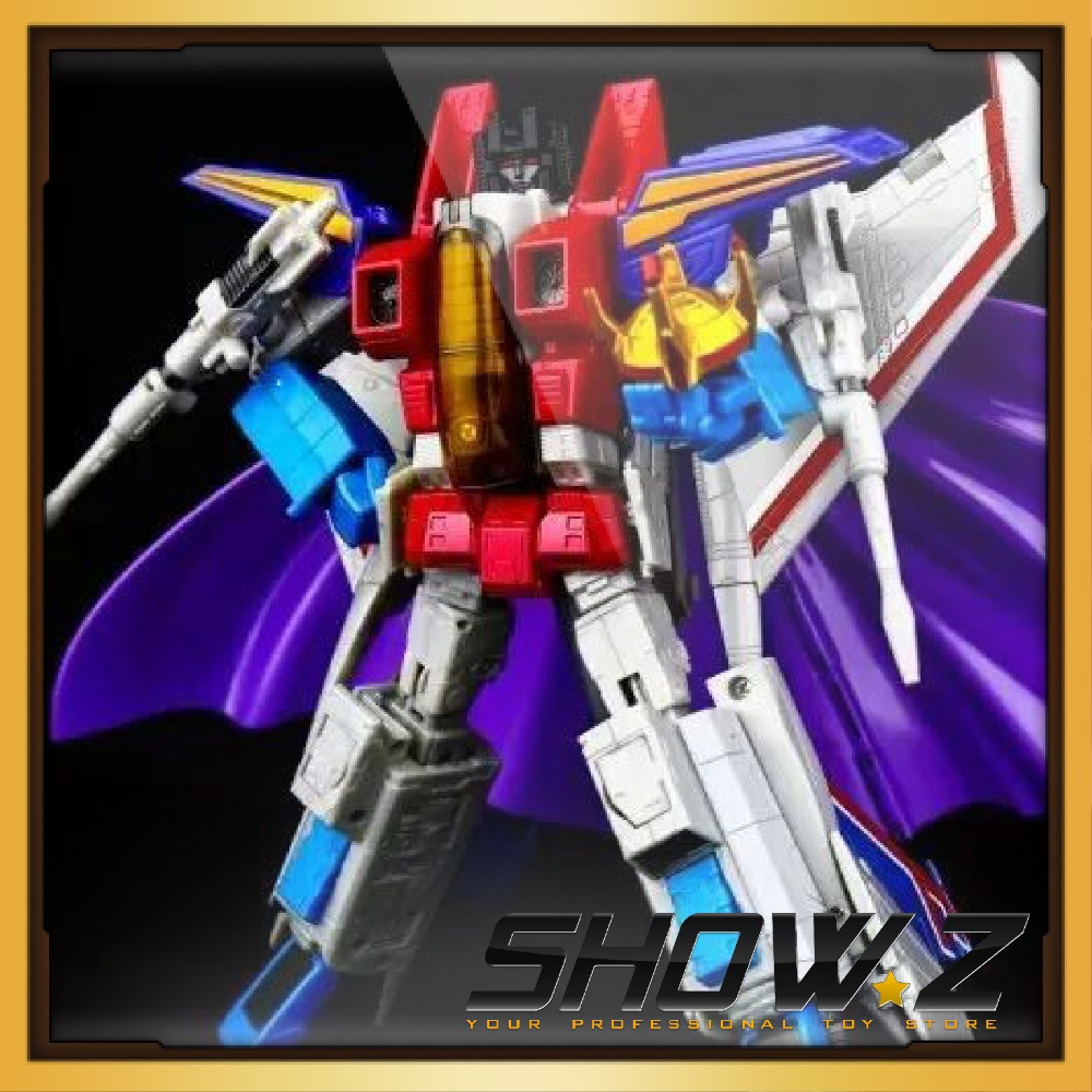 [Show.Z Store] NEW Transformation Kubianbao KBB MP11 Starscream Action Figure 23cm viruses cell transformation and cancer 5