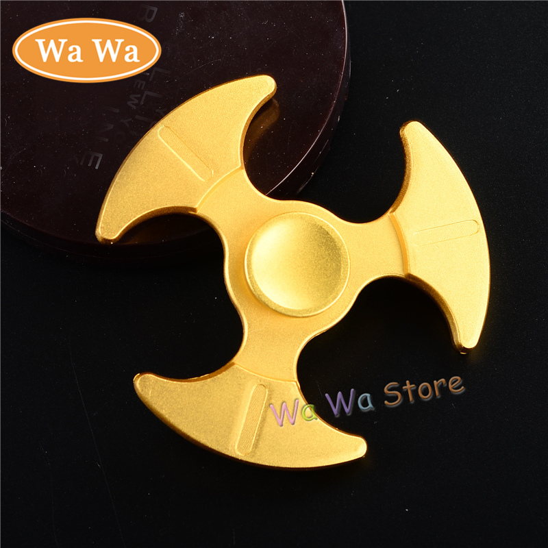 Newest Fidget Spinner High Quality Sickle Metal EDC Hand Spinner For Autism and ADHD Rotation Time