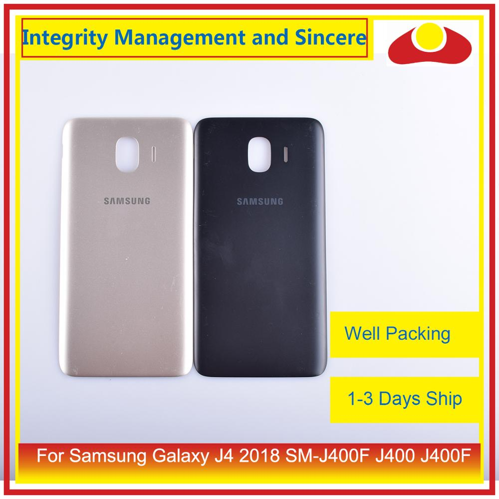 Image 3 - Original For Samsung Galaxy J4 2018 SM J400F J400 J400F Housing Battery Door Rear Back Cover Case Chassis Shell Replacement-in Mobile Phone Housings & Frames from Cellphones & Telecommunications