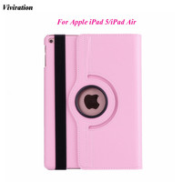 Viviration Wholesale Case For Apple IPad 5 PU Leather Tablet PC Case Cover 9 7 Inch
