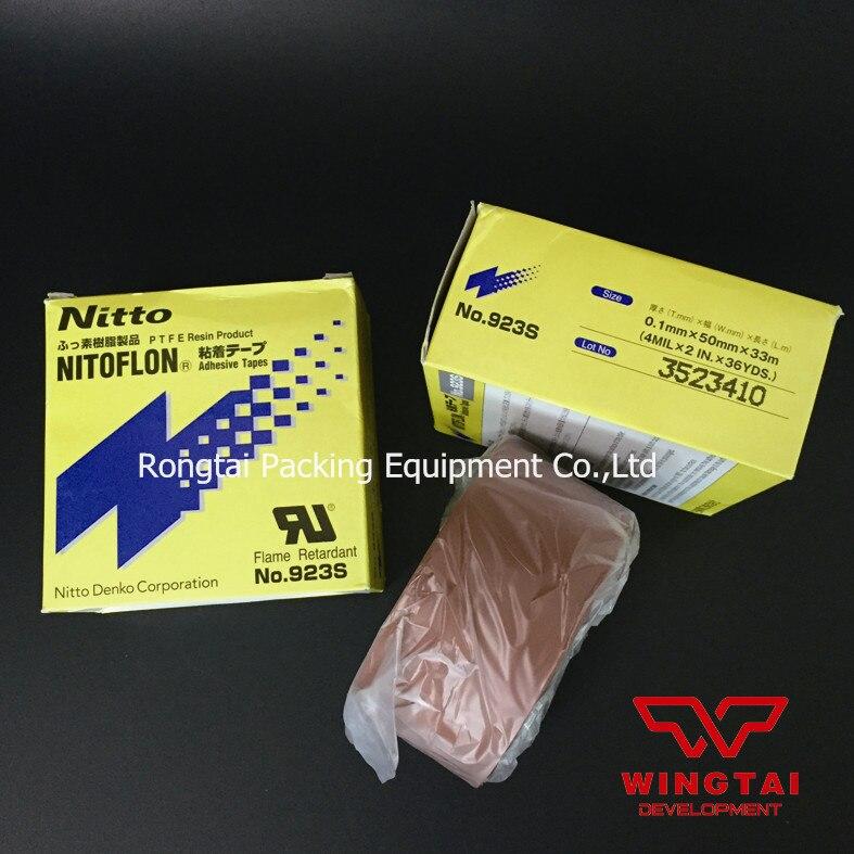 Original Japan Nitto Denko PTFE Adhesive Tape 923s t0 10mm w38mm l33m nitto denko heat sealing machine use heat resistant tape 923s