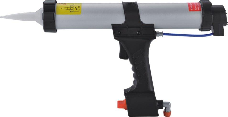 Pistola per silicone per sigillatura pneumatica 310 ml 10,3 oz Soft - Strumenti di costruzione - Fotografia 2