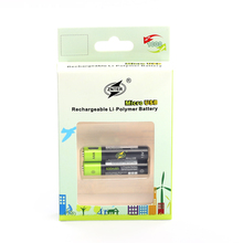 ZNTER 1.5V 600mah AAA Rechargeable Battery 600mAh USB Rechargeable Lithium Polymer Battery Quick Charging by Micro USB Cable стоимость