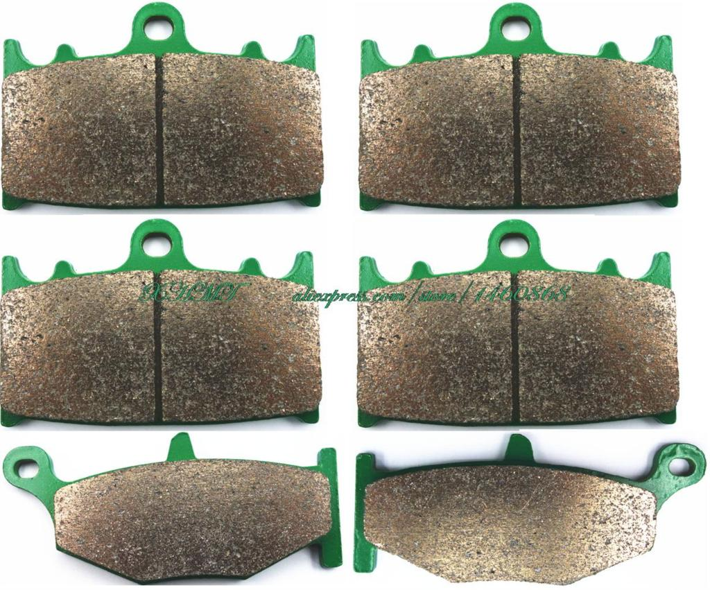 Brake Pad Set For <font><b>Suzuki</b></font> Gsr600 <font><b>Gsr</b></font> <font><b>600</b></font> / A / Abs 2006 2007 <font><b>2008</b></font> image