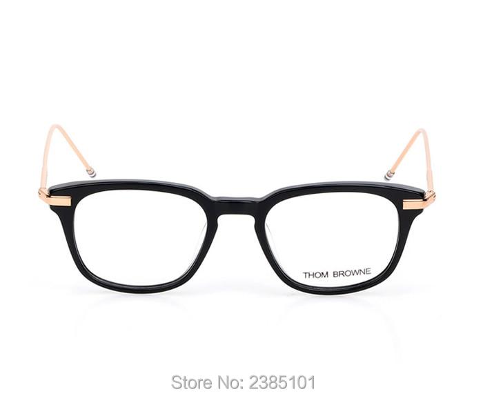 60db53c9214 2017 Fashion New York Brand Eyewear Frames Women Men Thom Browne ...