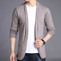 MRMT 2018 Brand Autumn Winter New Men's Jackets Sweater Pure Color Overcoat for Male Sweater Jacket Outer Wear Clothing Garment