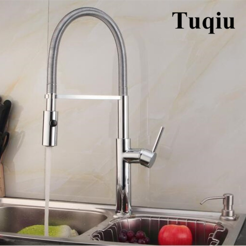 Newly Arrived Pull Out Kitchen Faucet Gold/Chrome/nickel/black Sink Mixer Tap 360 degree rotation kitchen mixer taps Kitchen Tap anon маска сноубордическая anon somerset pellow gold chrome