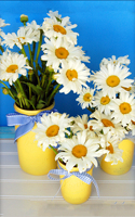 Diy Diamond Painting Daisy Flowers Cross Stitch Drill Cube Diamond Sets Unfinished Full Diamond Embroidery Square