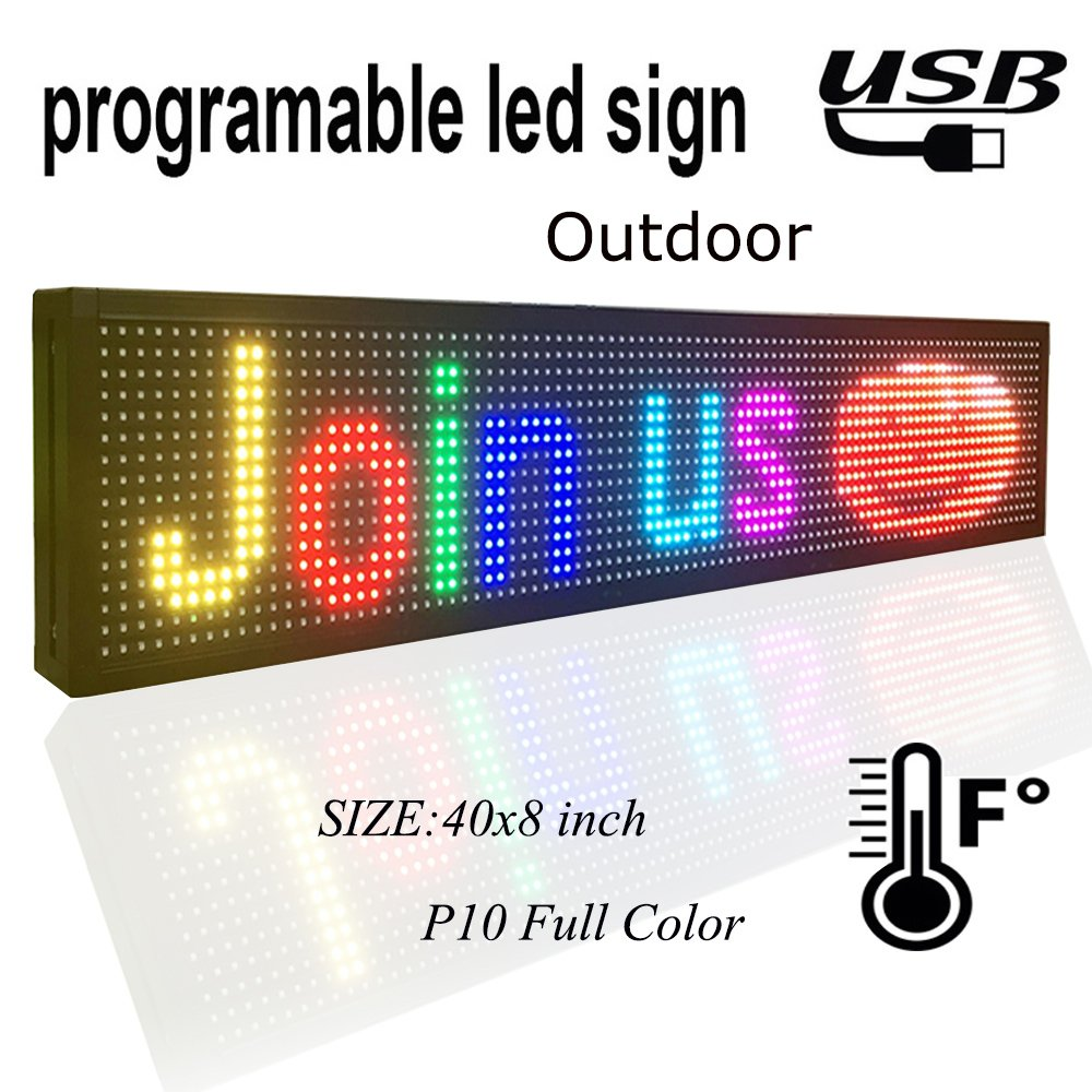 P10 RGB led Scrolling display message board/Outdoor  full color LED display/ Support computer USB programmablefor led signsP10 RGB led Scrolling display message board/Outdoor  full color LED display/ Support computer USB programmablefor led signs