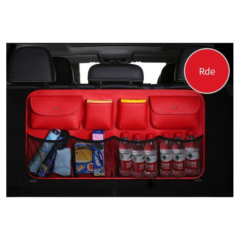 Sac de siège de voiture sac de réception de bagages de voiture sac à dos de siège SUV sac de filet de stockage d'article de voiture multifonctionnel