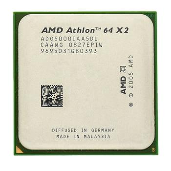 AMD Athlon 64X2 5000 + Dual-Core 2.6 ghz 1 m 1000 mhz Socket am2 940 פין מעבד מעבד