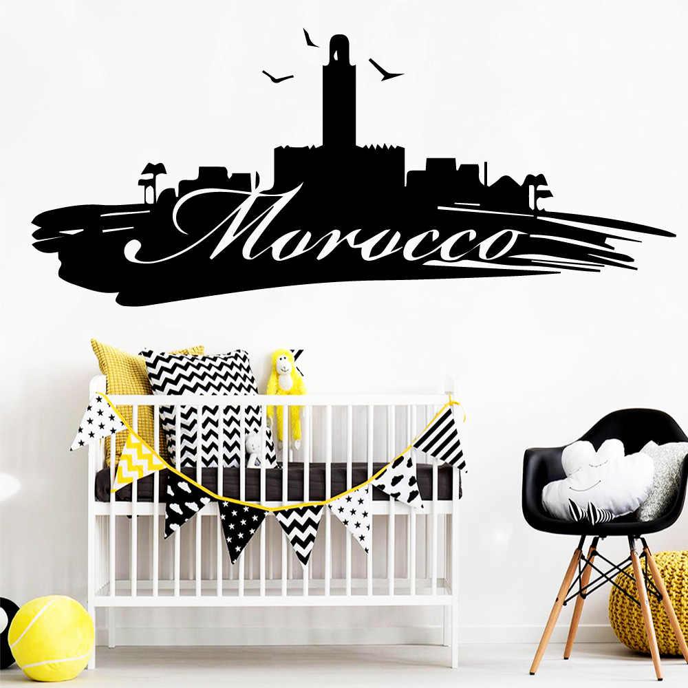 Décoration Murale Bureau Entreprise creative maroc vinyle auto adhésif papier peint pour salon