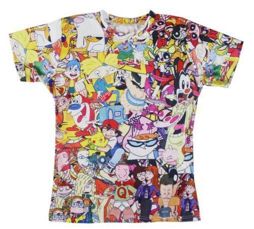 30914e8e797 2018 summer style 90 s Cartoons print 3d t shirt men women cartoon t shirt  unisex street wear camisa masculina Spring S-XXL