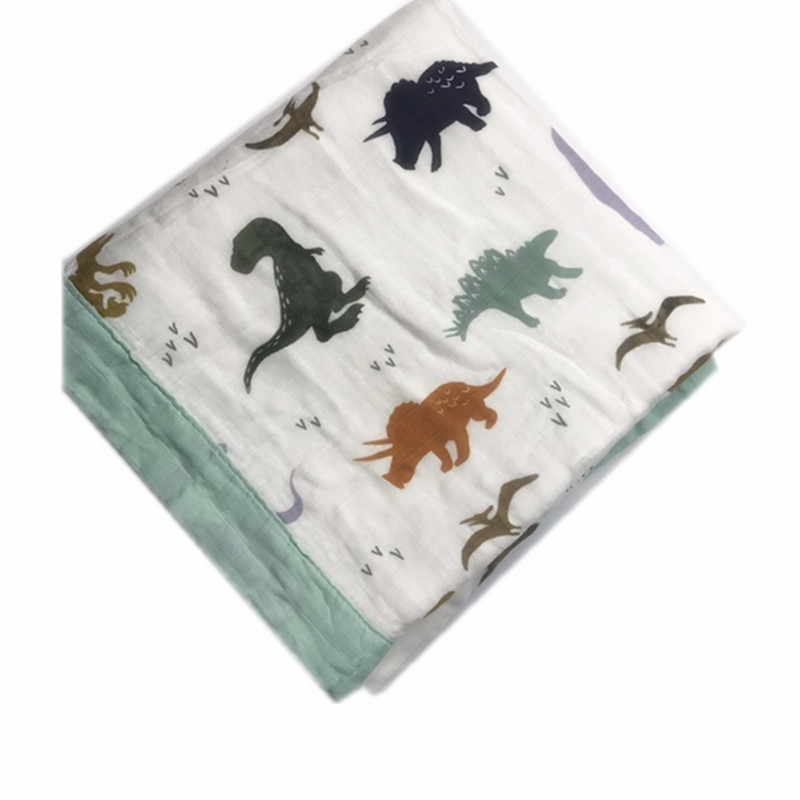 Four Layer Muslin Quilt Baby Muslin Swaddle Blanket Wraps