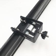 Funssor Creality CR 10 S4/S5 3D מדפסת מתכוונן Y ציר ערכת tensioner פלדה שחור צבע Y ציר עיתוי חגורה tensioner