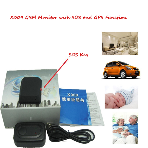 Elderly SOS KEY GPS anti-lost alarm large storage GSM portable smart tape video playback feedback mini gsm gps tracker for kids elderly personal sos button track with two way communication free platform app alarm