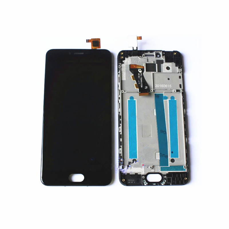 5.0'' Full LCD <font><b>Display</b></font>+Touch Screen Digitizer Glass+Frame Assembly For <font><b>Meizu</b></font> <font><b>M3</b></font> <font><b>mini</b></font> M688Q M688C image
