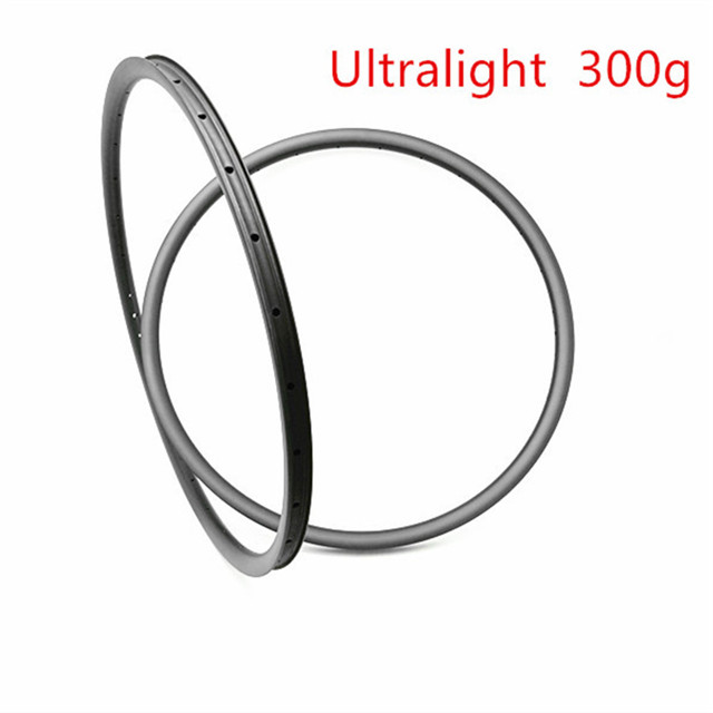 DAIRS 300g 28X22mm XC race bike Ultralight 29er carbon MTB rims U tubeless Mountain bike 24H 28H 32H UD tubeless matte glossy