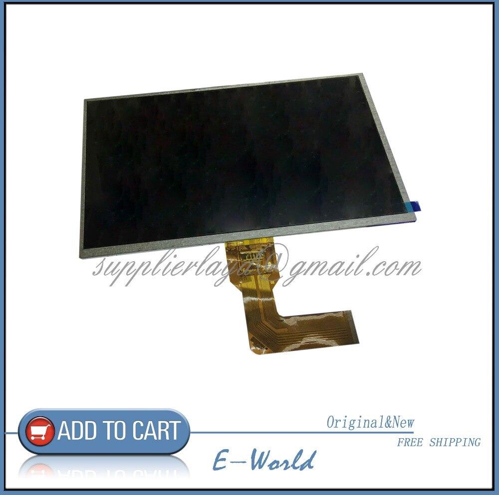 Оригинальный 10.1 дюйма ЖК-дисплей экран kr101le7t 1030300645 REV: B REV: C для планшетных ПК Бесплатная доставка