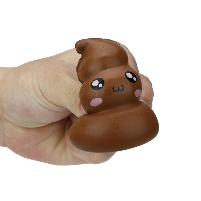 Original Kawaii  Squishy Exquisite Fun Crazy Poo Scented Charm Slow Rising Stress Reliever Toy  Collection Cure Gifts 7.4