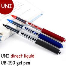 Stylo Gel UNI/ Mitsubishi, 3 pièces, étanche/résistant à l'eau, 0.38/0.5mm, à bille, fournitures scolaires et de bureau