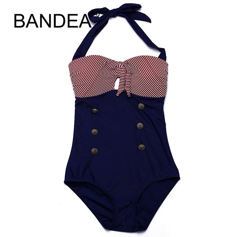 BANDEA One Piece Swimsuit Plus Size Bikini Bathing Suit Women Brazilian Beachwear Bikini Push Up 2017 Swimming Suit For Women plus size scalloped backless one piece swimsuit