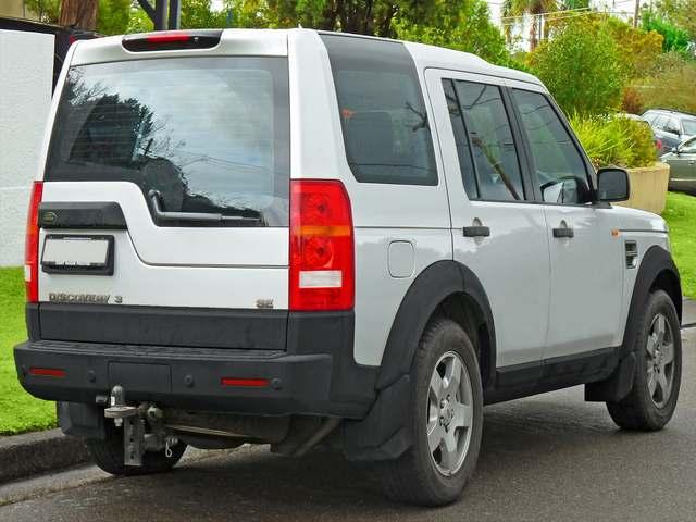 lr3 rear bumper