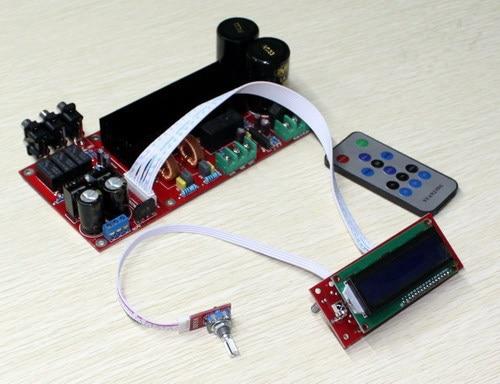 ФОТО TDA8954 + PGA2311 digital remote amplifier board /High-power high-efficiency Class D digital audio amplifier board(210W +210 W)