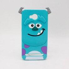 Cute Cartoon Case For Huawei Y6 II 2 Y6II Y5II Y5 II 2 Y3 II Back Cover For Huawei Y625 Y635 Capa 3D Sulley Silicone Phone Cases