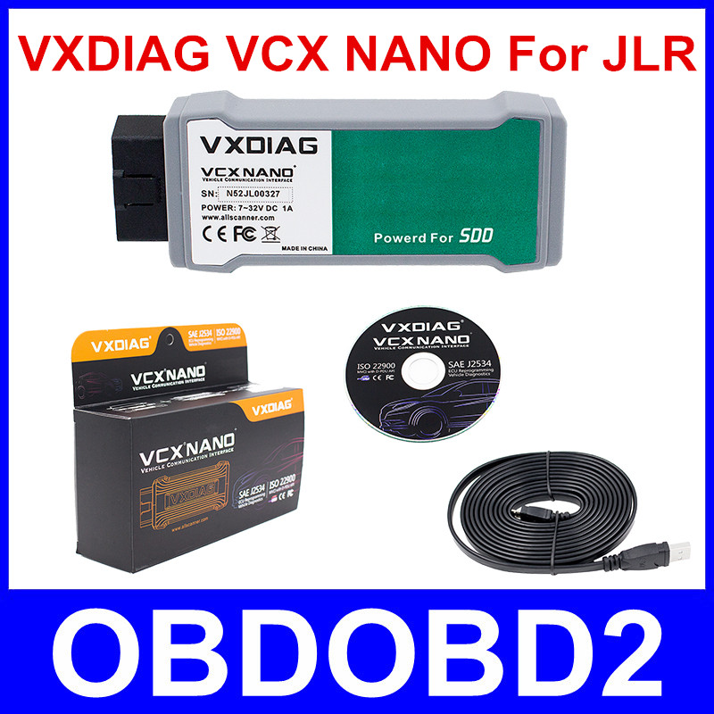 Original VXDIAG VCX NANO For Land Rover and For Jaguar Software Powered For SSD V141 VXDIAG VCX NANO for All Protocols Free Ship vxdiag vcx nano for f o r d mazda 2 in 1 ids v101 vxdiag vcx nano 2 in 1 support vehicle till 2015 year