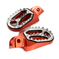 Footrest Footpeg Foot Pegs Rests Pedal For KTM 50 85 125 150 250 350 450 530 SX SXF EXC EXCF XC XCF XCW XCFW Freeride 250R/F 350