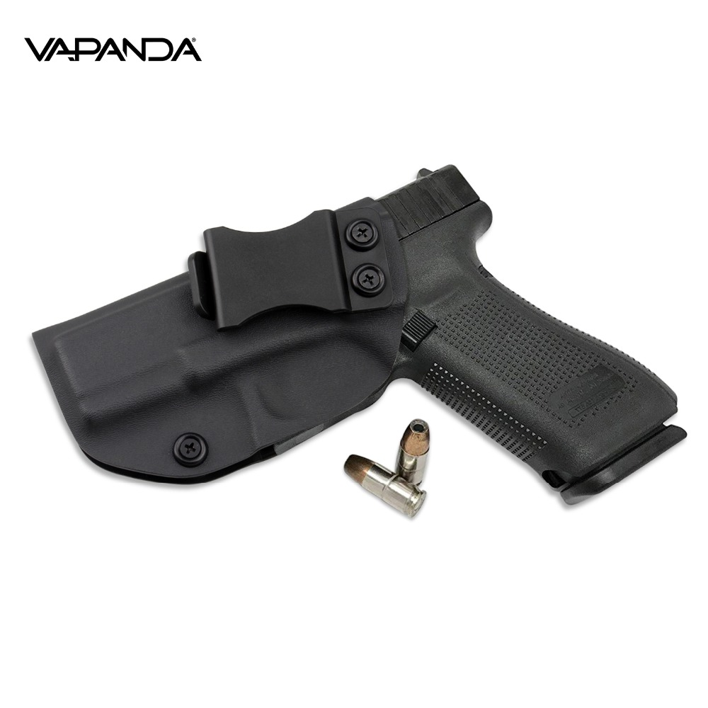 Inside The Waistband IWB Kydex Holster Custom For Glock 19 19x 23 32(Gen  1-5) Concealed Gun Pistol Case Belt Clip