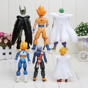 Image 3 - Dragon Ball Z Joint Beweegbare Vegeta Piccolo Zoon Gohan Zoon Goku Trunks Gogeta Pvc Action Figure Speelgoed