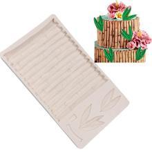 DSstyles «сделай сам» Торт Шоколад Формы Бамбуковые украшения силиконовые формы