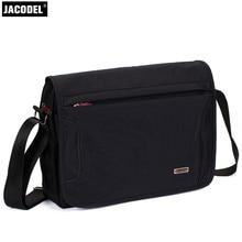 Jacodel Laptop computer Shoulder Messenger Bag 15 13 14inch Crossbody Baggage Maletin Portatil 15.6 Pocket book Bag For Macbook Sleeve Case