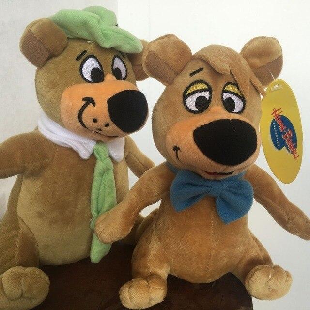Yogi Bear Boo Boo Set Of 2 Stuffed Plush Large Doll Toy Best Gift In