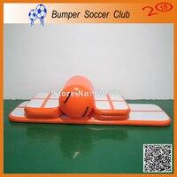 Free Shipping Inflatable Crash Air Board,Inflatable Air Block,Inflatable Air Track Gymnastics Mini Mat