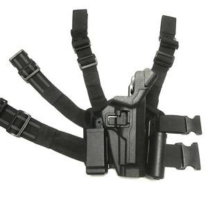 Image 5 - Военный ремень Beretta M9 92 96/кобура для ног, Тактический кобура для поясницы, походная охотничья кобура, армейская страйкбольная кобура, чехол для переноски