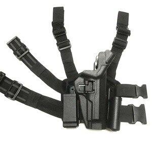Image 5 - Militaire Beretta M9 92 96 ceinture/jambe étui tactique pistolet taille étui extérieur chasse étui armée Airsoft pistolet étui de transport