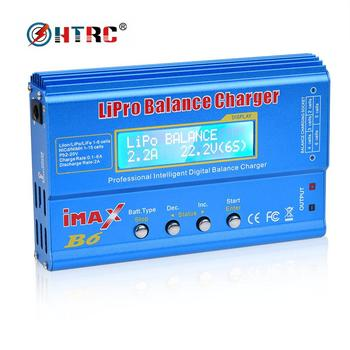 Hot Sale iMAX B6 80W/50W Digital RC Balance Charger Discharge for LiPo NiMH NiCd LiFe Pb Battery with 15V 6A AC Adapter