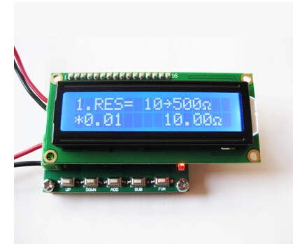 Free Shipping! RTD calibrator resistance signal generator module ...
