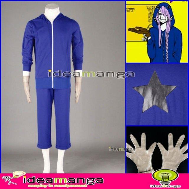 [ideamanga]Manga Amime V+ VOCALOID Matryoshka/Kamui Gakupo/Gackpo man's Cosplay Costume male halloween party dress Any Size