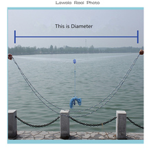 Lawaia  Fishing Net Without Sinker And Ring Diameter 2.4-7.2m Fishing Network For Fishing Garnalen Aquarium 7m Fish Net Maxcatch