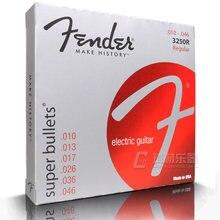 Fender 3250R Super Bullets Nickel Steel Regular Electric Guitar Strings 14-46